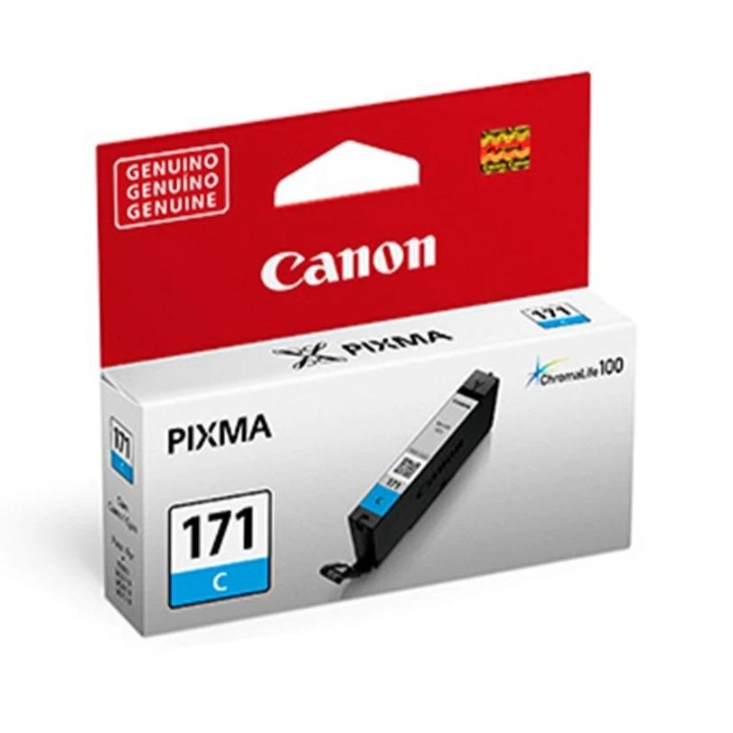 CARTUCHO DE TINTA CANON PIXMA CL171 CYAN