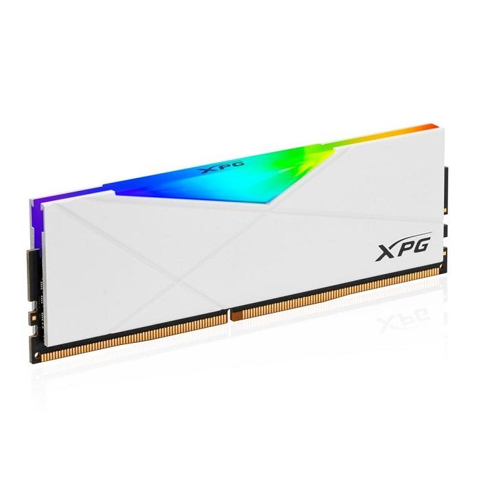 MEMORIA RAM DDR4 XPG SPECTRIX D50 RGB 8GB 3200MHZ  PC WHITE