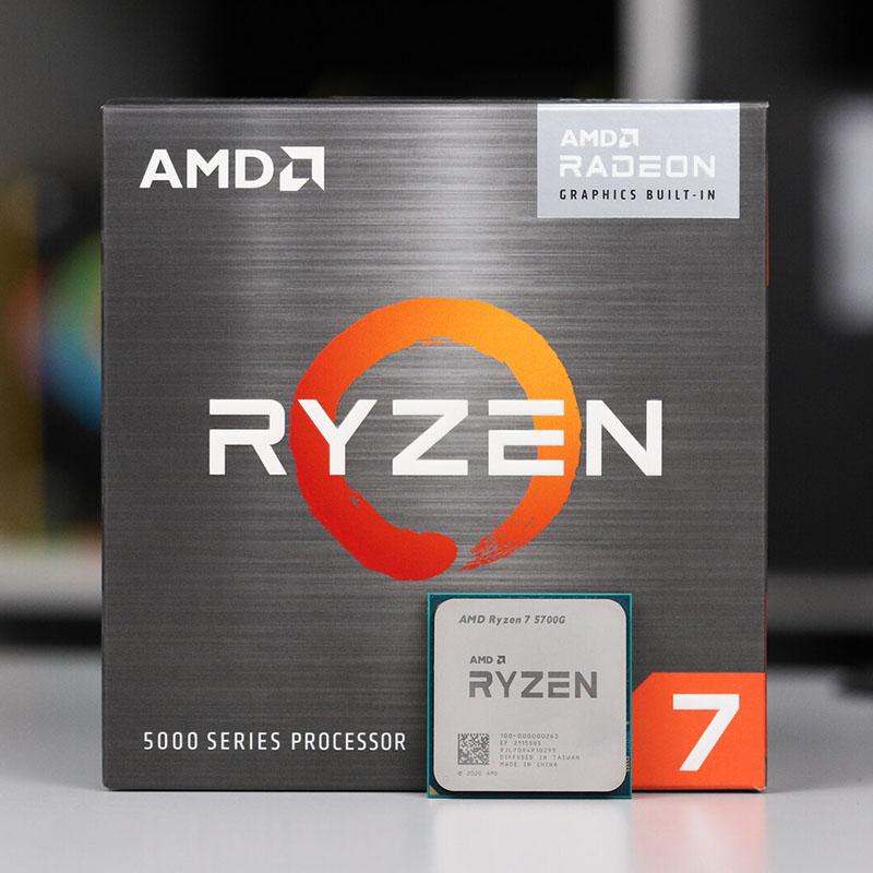 PROCESADOR AMD RYZEN 7 5700G 3.8GHz 8C/16T 16MB Radeon Graphics AM4