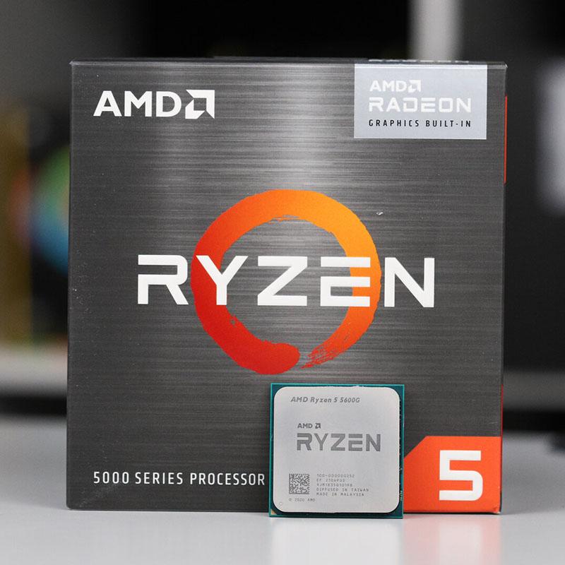 PROCESADOR AMD RYZEN 5 5600G 3.9GHz 6C/12T 16MB Radeon Graphics AM4
