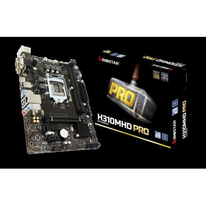 MOTHERBOARD BIOSTAR H310MHD PRO2 LGA1151
